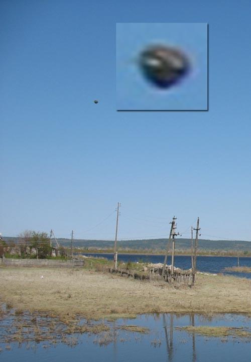 НЛО над Ширяево 2 мая 2008 г.